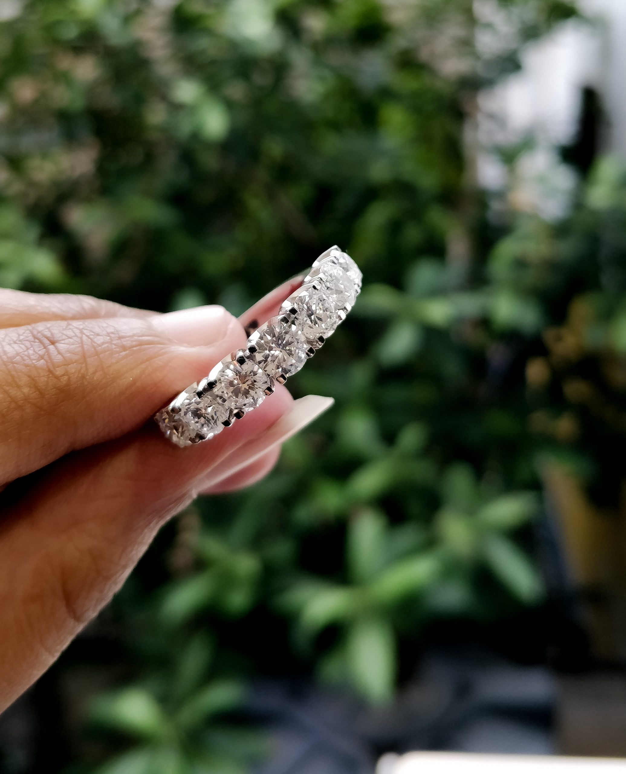 lab grown diamonds ring